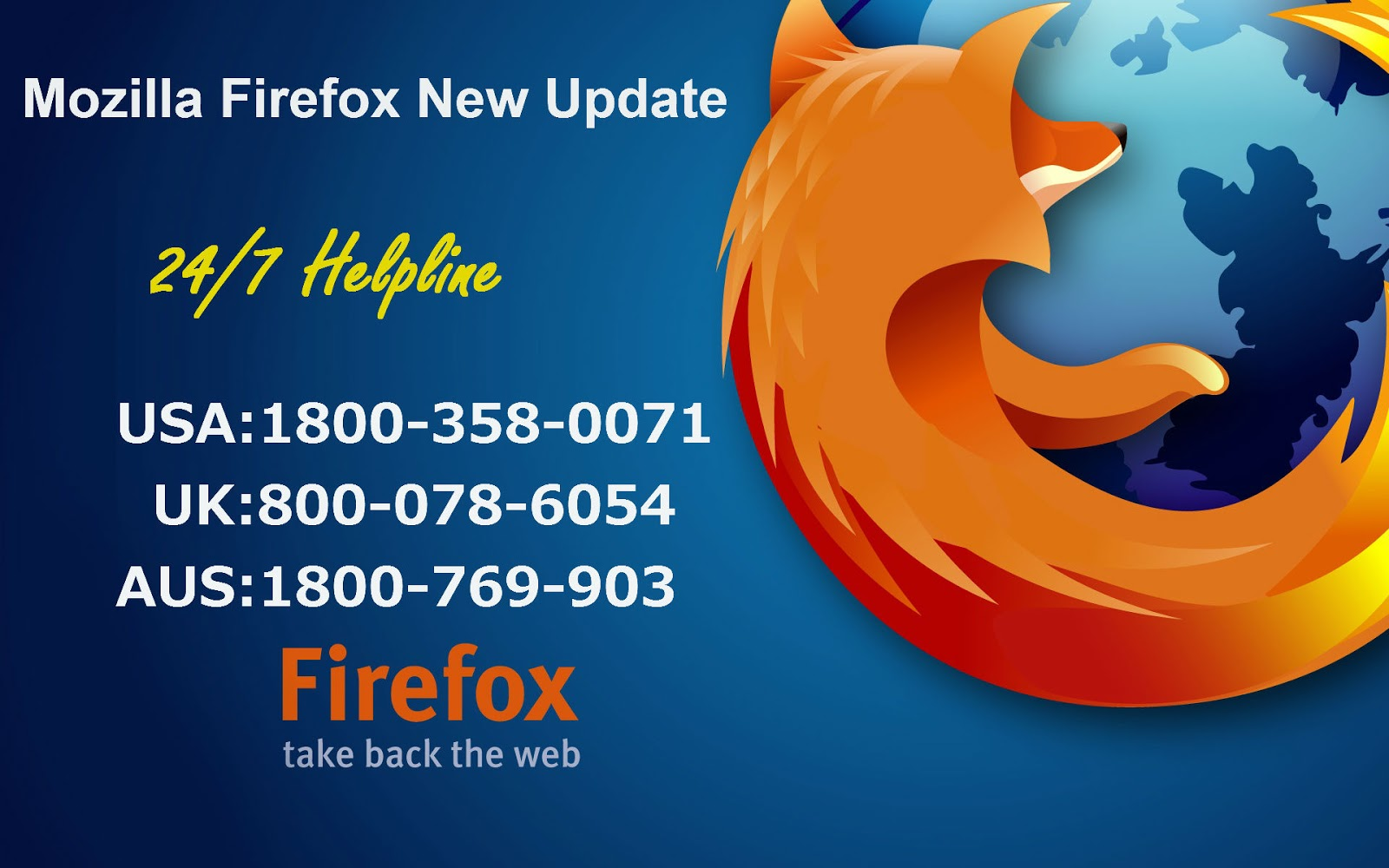 Firefox contact number