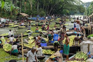 Guava Markt in Bangladesch