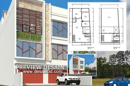 Jasa desain rumah tahap renovasi gaya modern luas nyaman enak dilihat