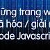 Tổng hợp những trang web mã hóa Javascript phổ biến