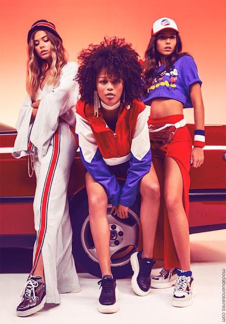 Moda primavera verano 2019 │ Estilo sporty chic juvenil en la colección 47 Street primavera verano 2019.