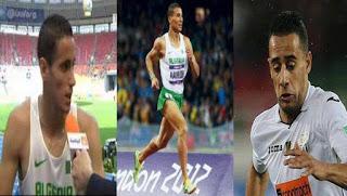 الألعاب الاولمبية 2016:  تأهل الجزائريين حتحات، مخلوفي و بلفرار الى الدور نصف النهائي