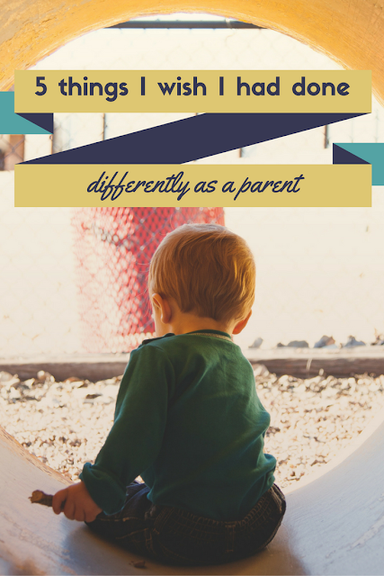 Mom2MomEd Blog: 5 things I wish I had done differently as a parent