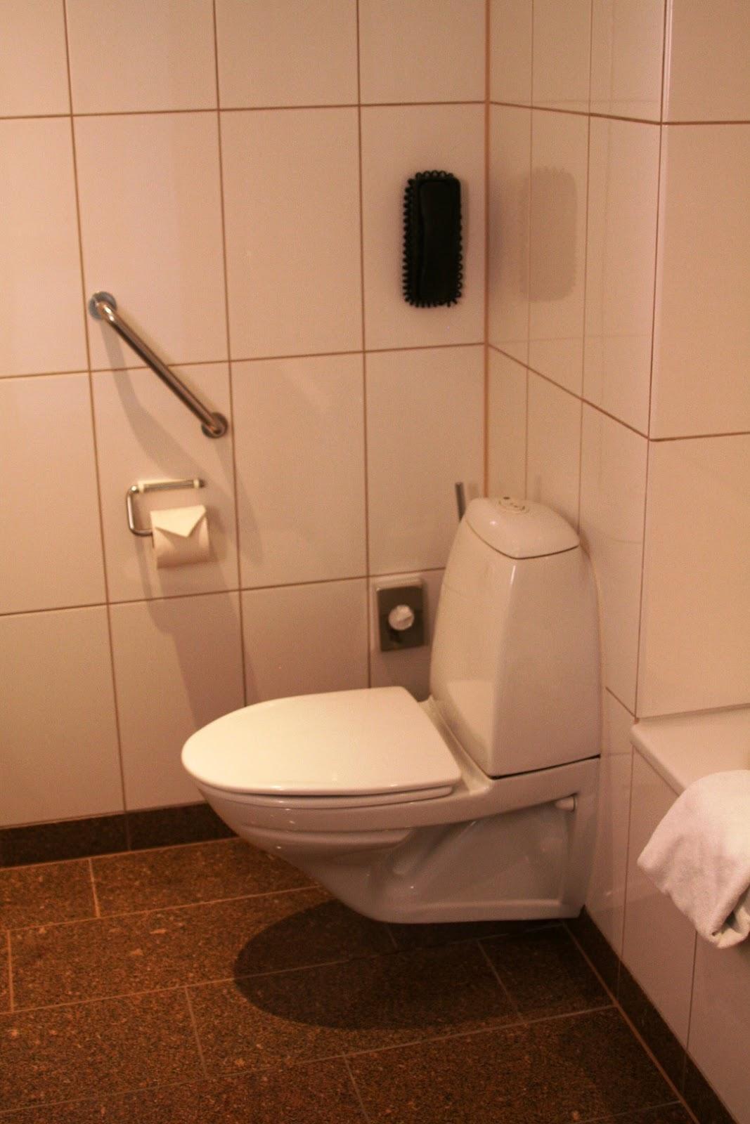 toilet Hilton Copenhagen Airport Kopenhaga