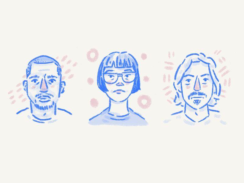 Icon design trend 2 - hand drawn