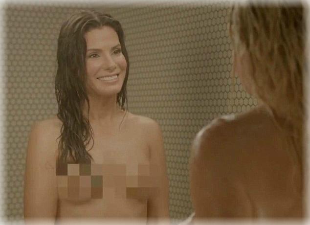 Fotos de desnudos de Sandra Bullock filtradas en