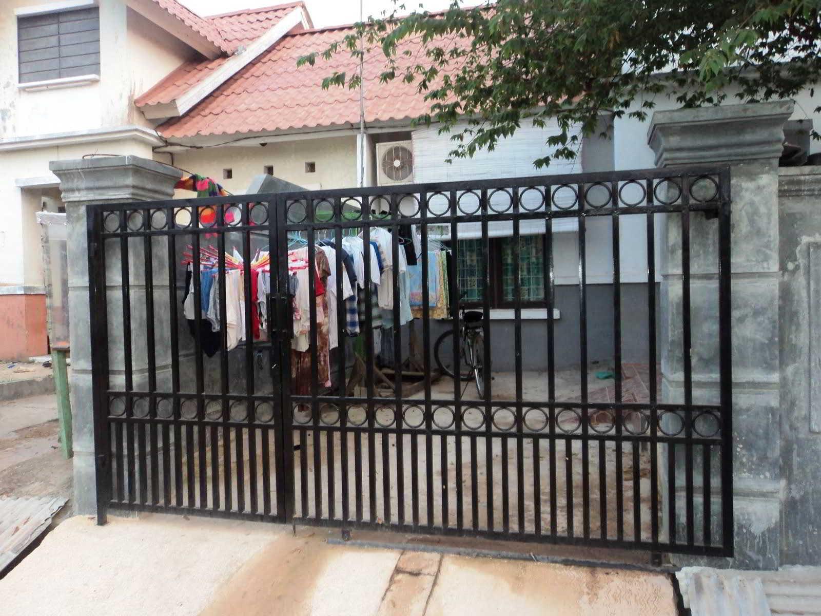 √ 60+ contoh model desain pagar rumah minimalis modern terbaru