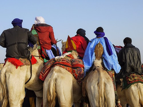 Sahara and Sahel regions of Sub-Saharan Africa Tuareg nomadic tribesmen photo by ginagleeson