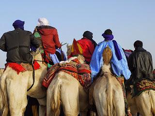 Sahara and Sahel regions of Sub-Saharan Africa Tuareg nomadic tribesmen photo by ginagleeson