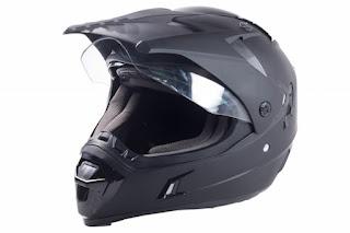 Night vision added to motorcycle helmet