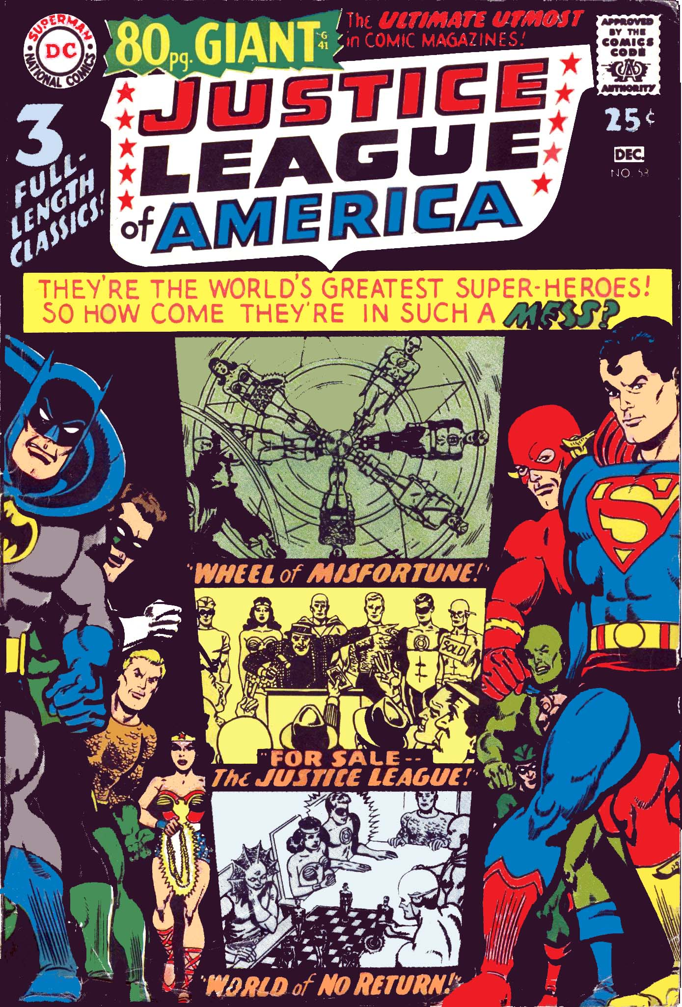 Justice League of America (1960) 58 Page 1