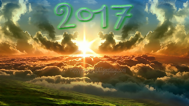 Happy New Year 2017 Nature HD Pics For Full HD Smartphones
