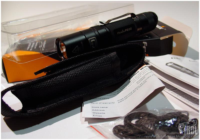 Fenix tk45 linterna con XP-g r5 LEDs
