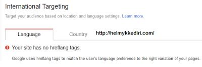 Cara Memasang Tag Hreflag diBloggert