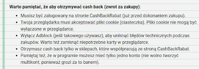 Cashback z Allegro i innych sklepów.
