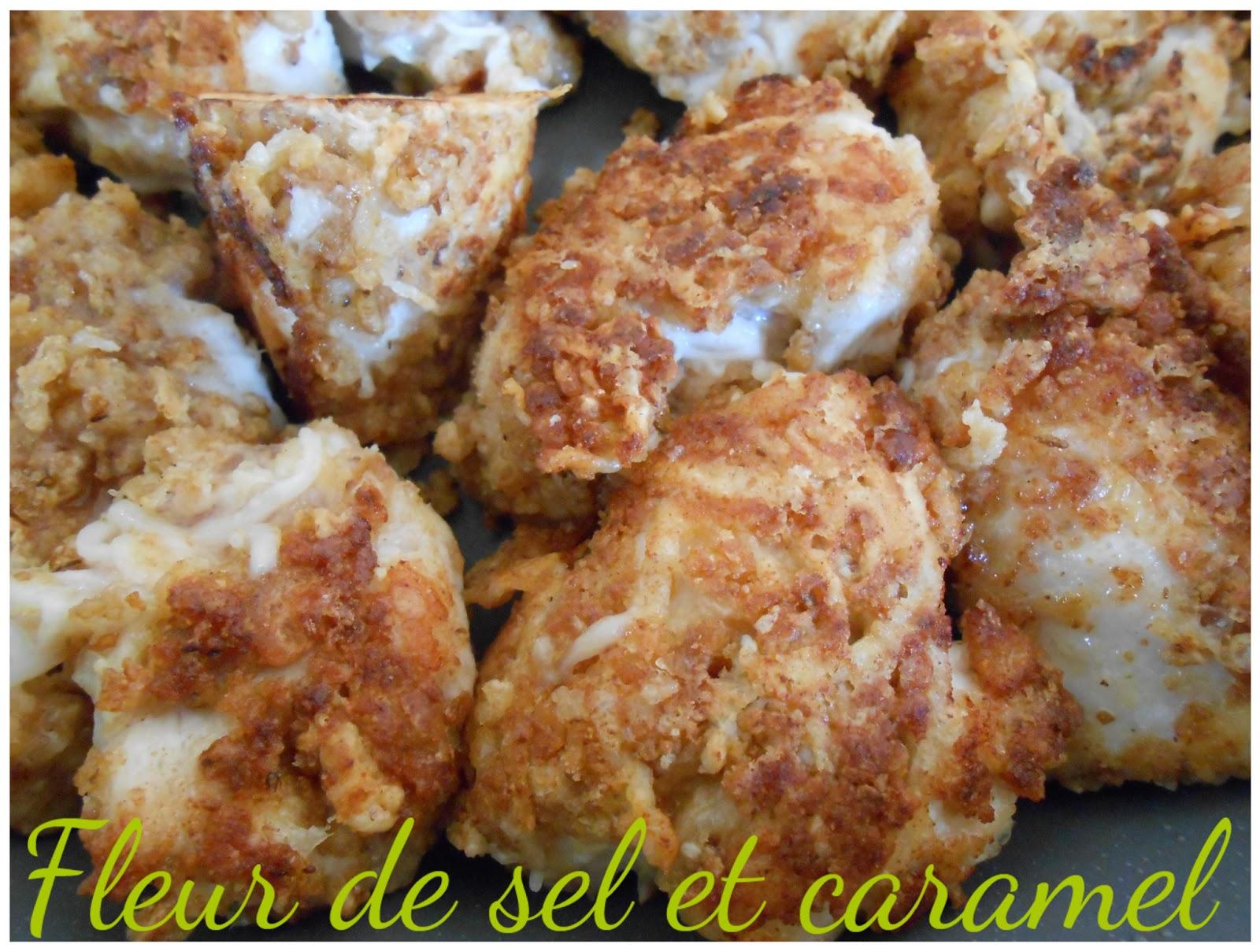 Fleur de sel et Caramel: Nuggets maison
