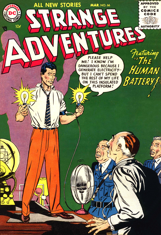 Strange Adventures (1950) issue 66 - Page 1