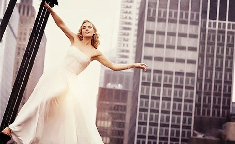 Kate Winslet in White Dress Photoshoot