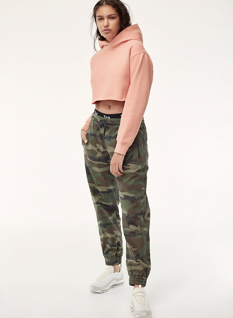 cropped top hoodie mode vêtements
