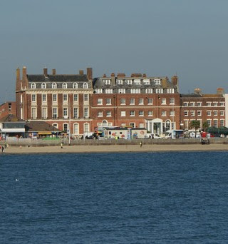 Gloucester Lodge today  where George III and his family stayed  on their visits to Weymouth