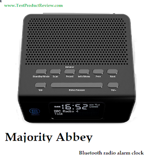 Majority Abbey Bluetooth DAB/FM radio alarm clock