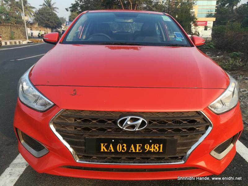 2018 Hyundai Verna 1 6d From Zoomcar Enidhi India Travel Blog