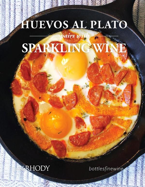 Huevos Al Plato - Sparkling Wine Pairing Idea