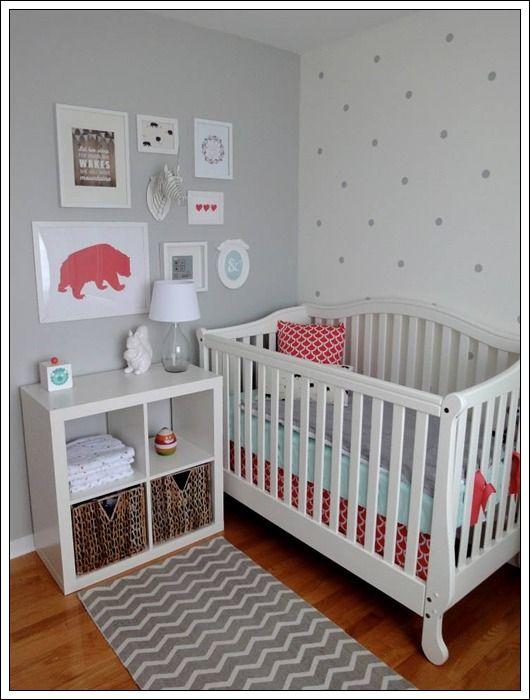 M nica dise os - Dormitorio de bebe nina ...