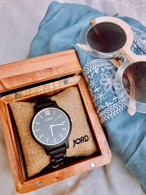 Jord Frankie Watch, unique wooden watch, men's watch, women's watch