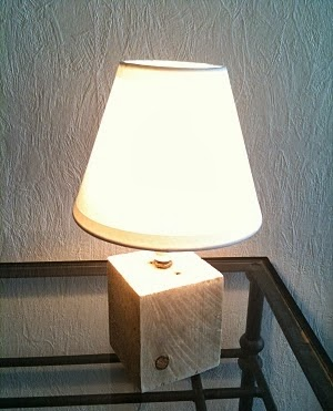 lampe de chevet diy arda d co. Black Bedroom Furniture Sets. Home Design Ideas