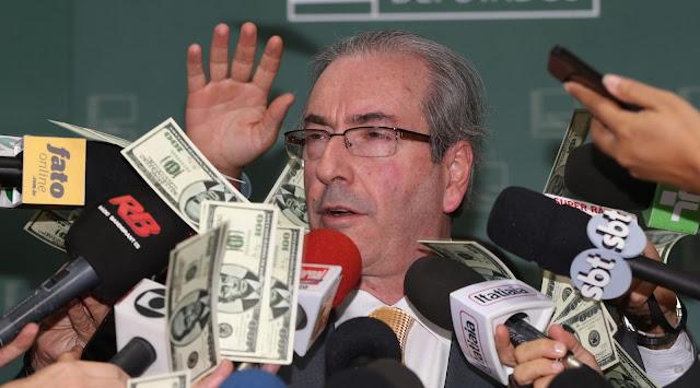 Resultado de imagem para Sem dinheiro, Cunha cobra dívidas de ex-colegas