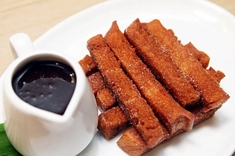 Pan de Churros con Tsokolate NamNam Filipino Comfort Food Greenbelt 2