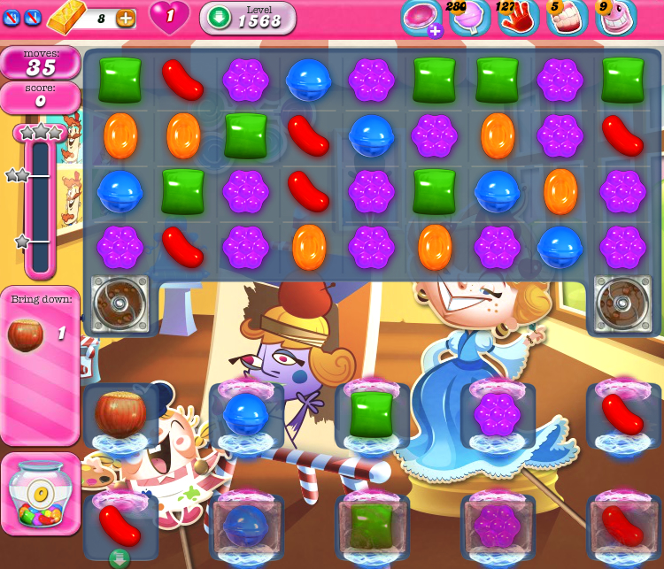 Candy Crush Saga 1568