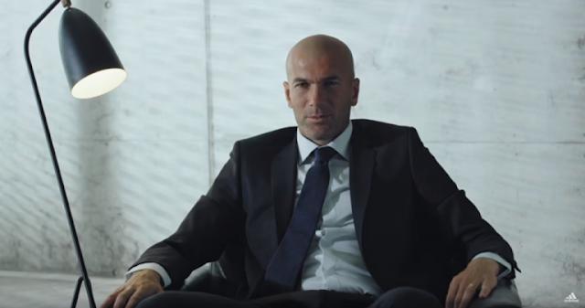 Zidane se convierte en ojeador de adidas