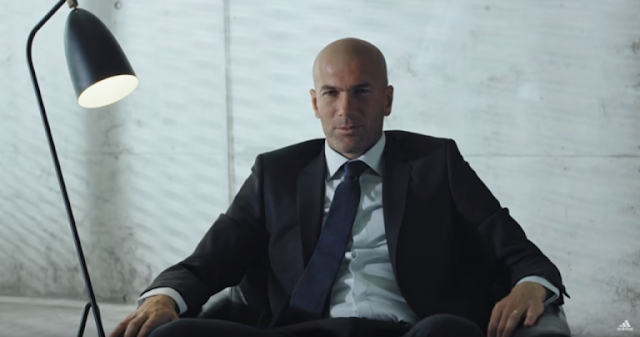 Zidane se convierte en ojeador para adidas