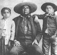 Chefe Apache Eskiminzin, também chamado COCHISE