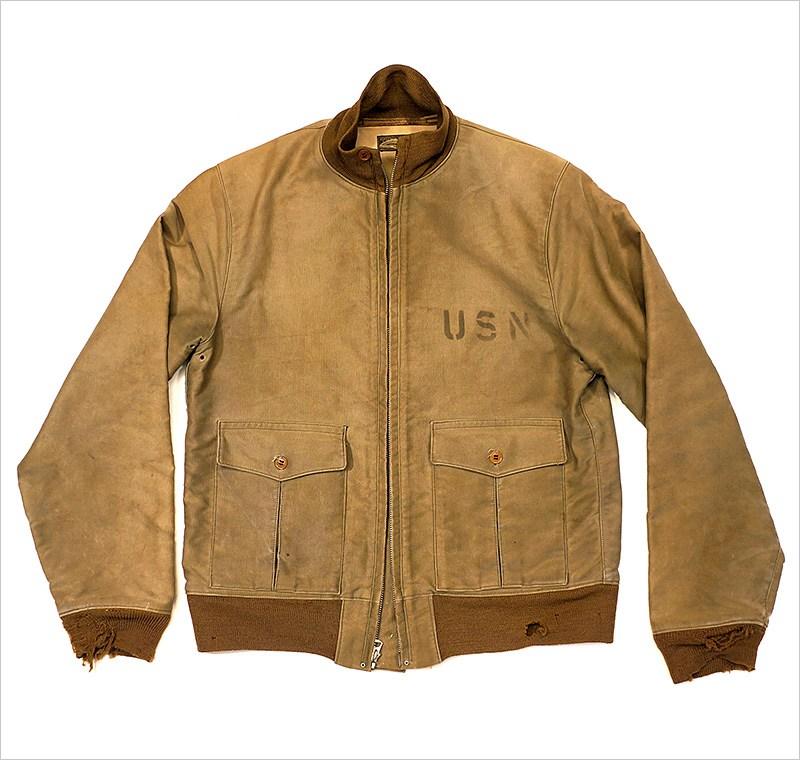 Nostalgia on Wheels: WWII USN 37J1 Summer Flight Jacket - 1936 - 1939