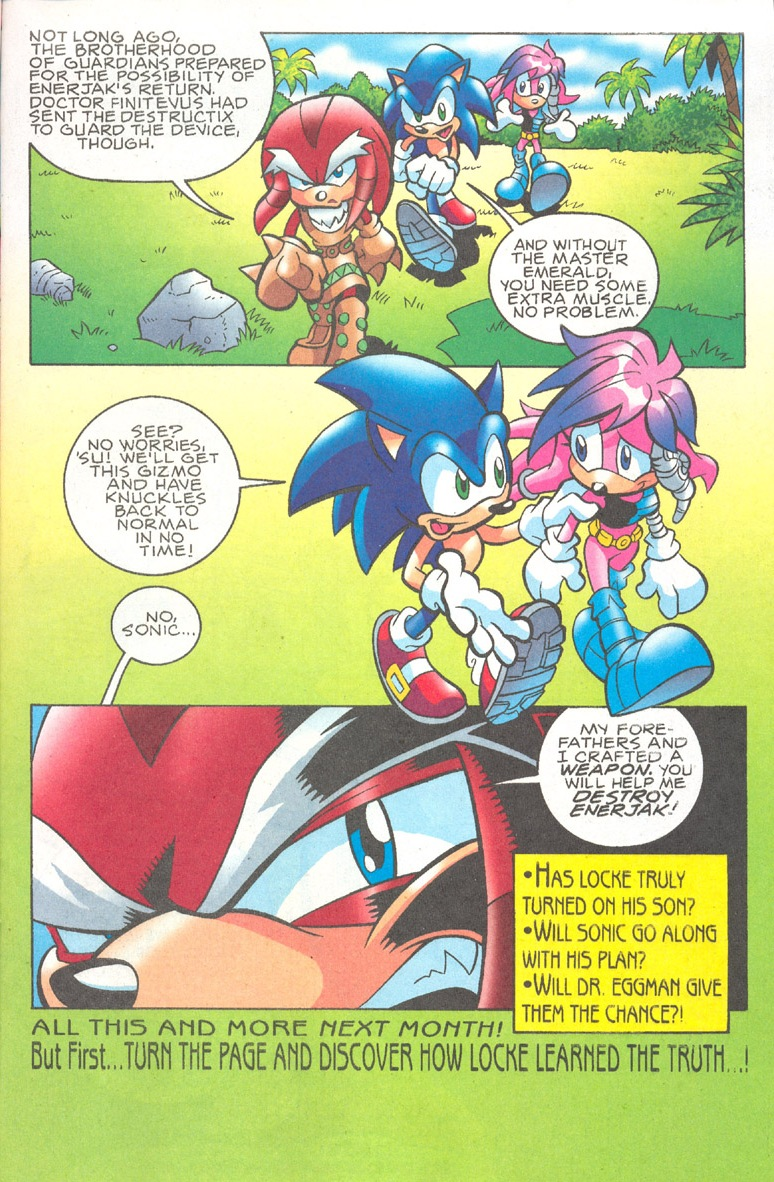 Read online Sonic The Hedgehog comic -  Issue #182 - 18