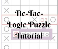 Tic-Tac-Logic Tutorials by Conceptis Puzzles