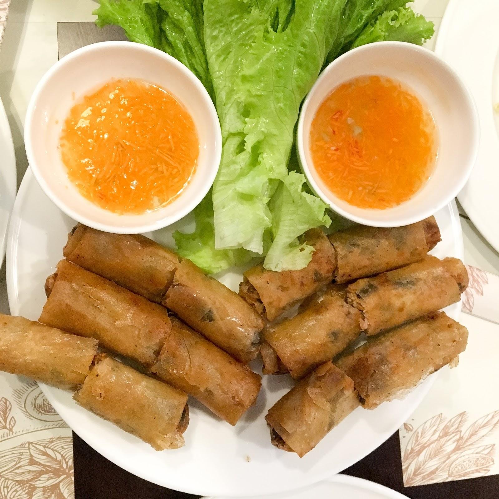 Bon pho roll authentic vietnamese cuisine makati the foodinista - Authentic vietnamese cuisine ...