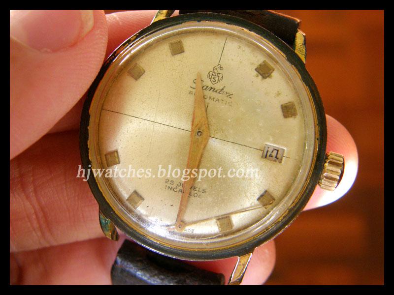 Amusing moment vintage sandoz watch are mistaken