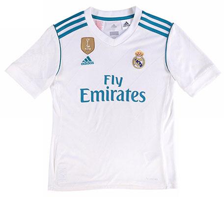 camiseta Real Madrid 2017-2018 niños
