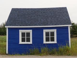 Petite maison bleue à Natashquan