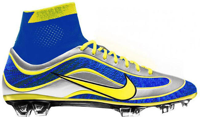 822e7bf03 Nike Mercurial Superfly Ronaldo Concept Boots by mbroidered - Footy ...