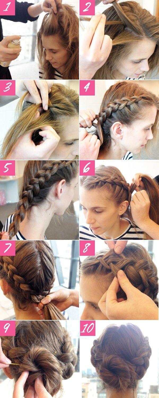 Pasos de peinados faciles de hacer