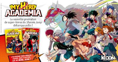 [Actu Manga] Les premières pages de My Hero Academia !