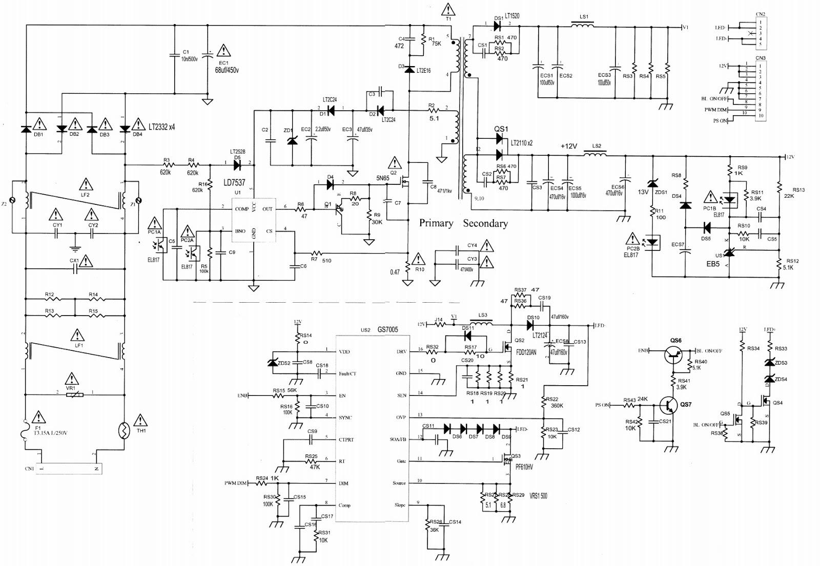 BN44 00338B used with Samsung LE26C450E, Samsung LN32C450