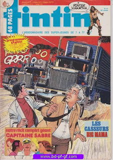 Tintin-numéro 47, année 38, 1983, Les casseurs