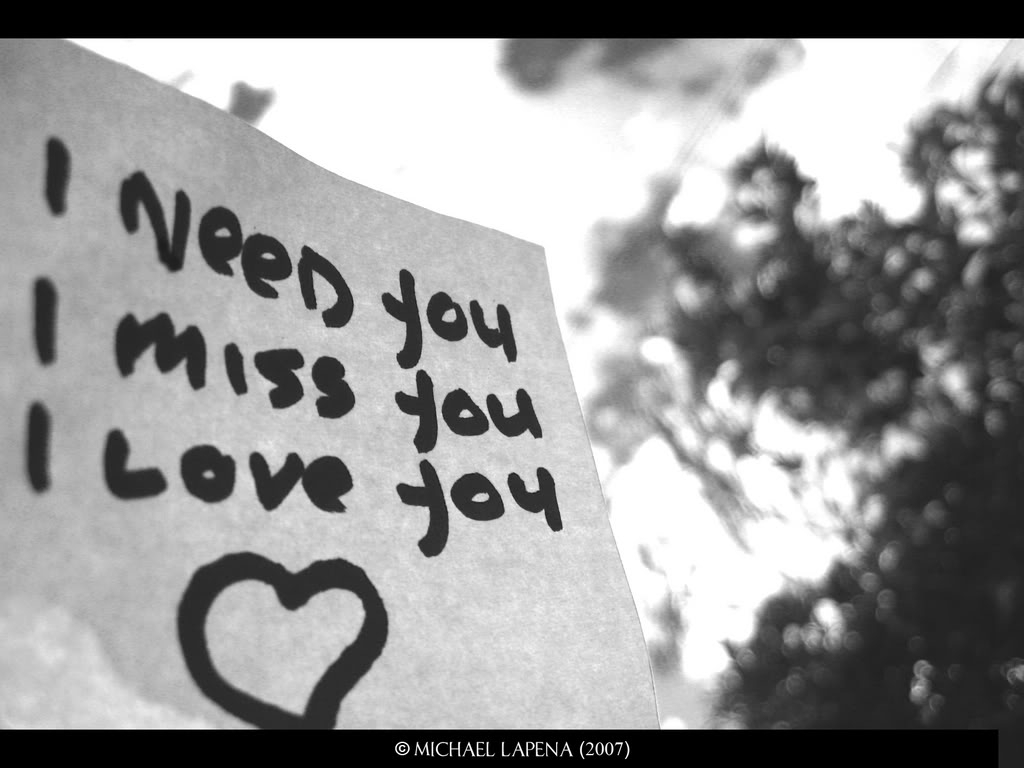 I Miss You Quotes Love: Tasaweer: I Love You