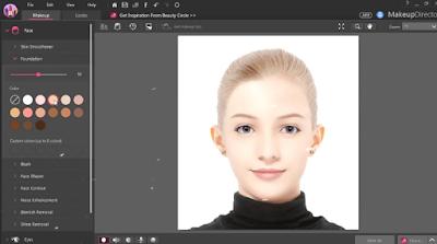 تحميل برنامج MakeupDirector لتجميل الصور 2018 للكمبيوتر برابط مباشر